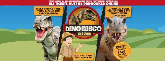 dinosaur disco event copycat party company
