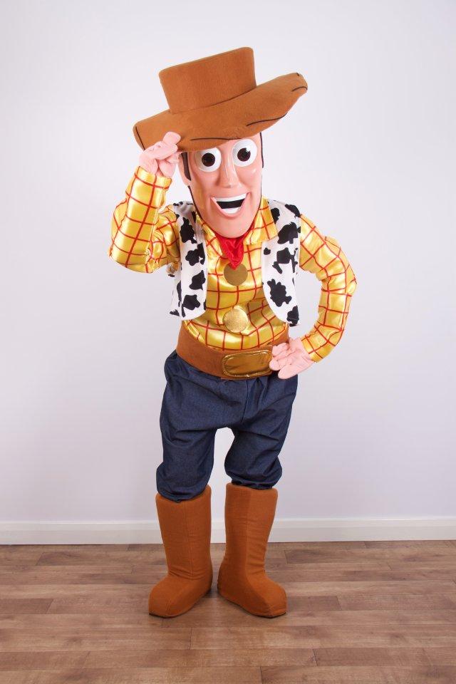 woody mascot hire
