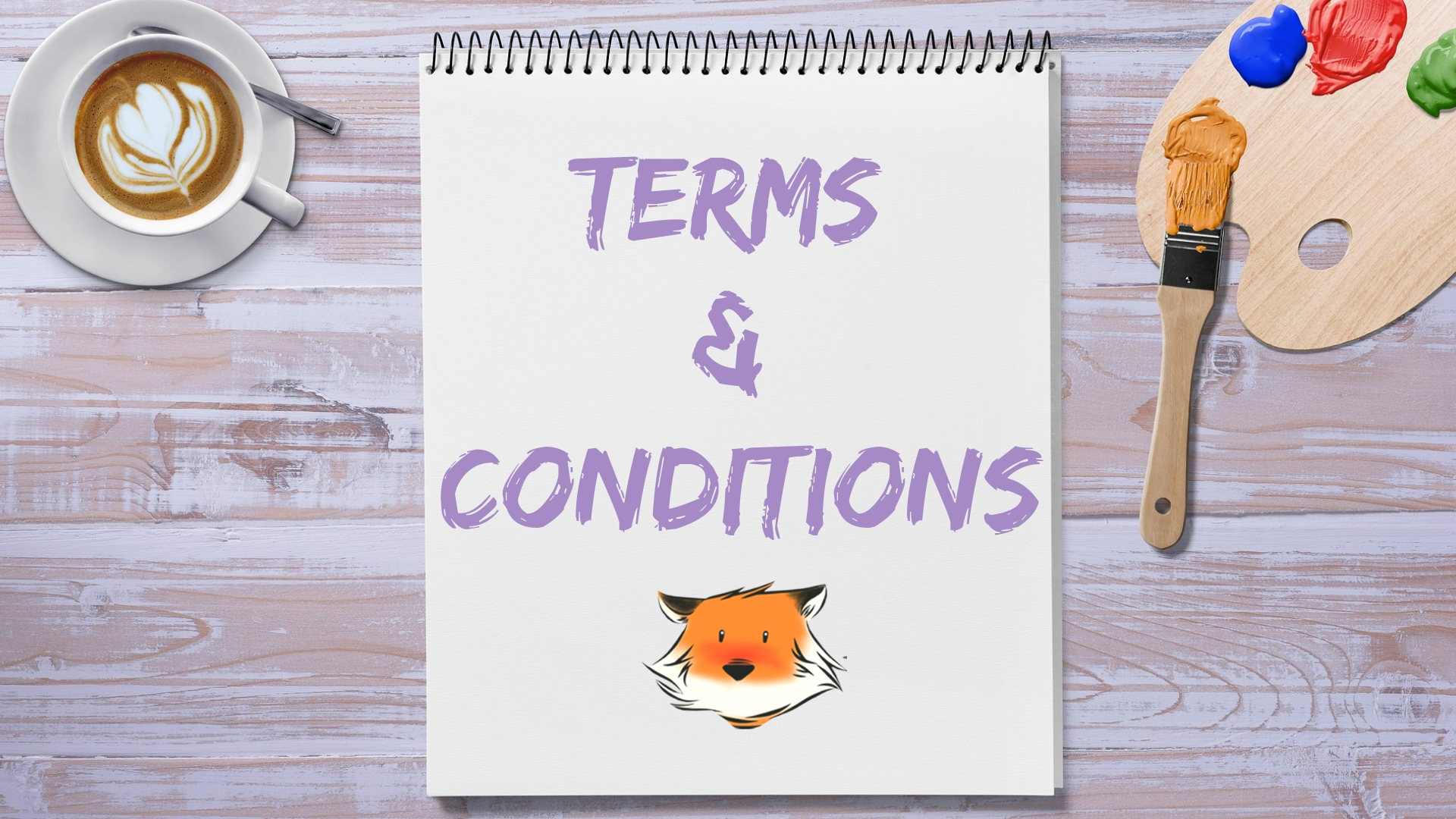 Terms and Conditions for Copy Fox Pro LLC by Laurrel Allison