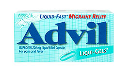 Advil Liquigels for Migraines