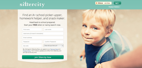 Sitter City personalizes web experiences