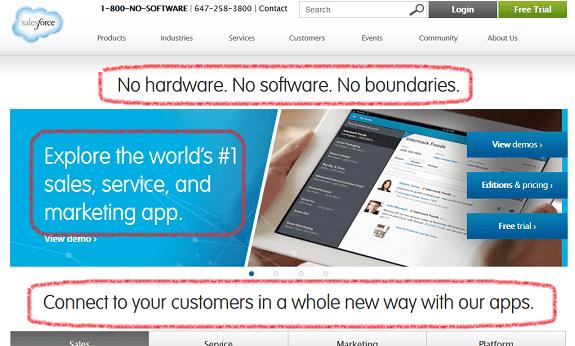 Salesforce clarity