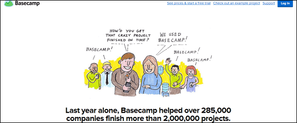 How 37signals persuades on Basecamp