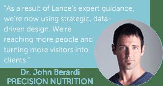 Precision Nutrition Internet Marketing
