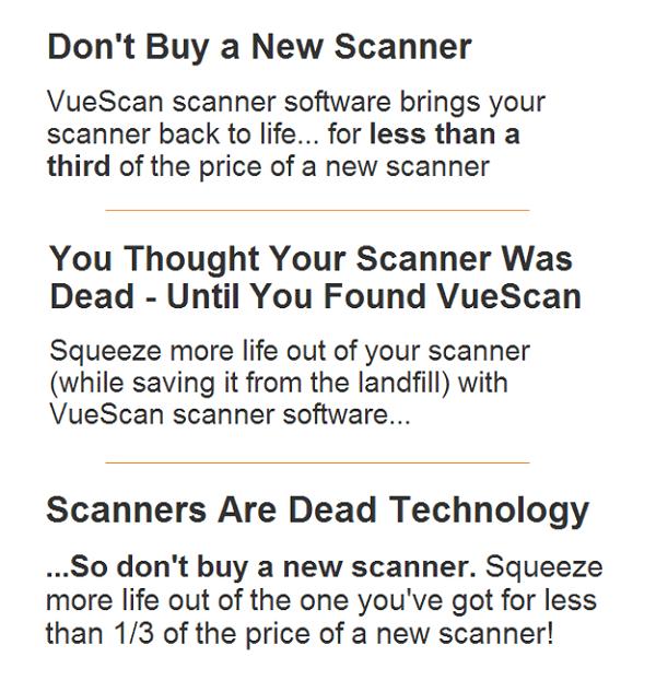 Headline testing