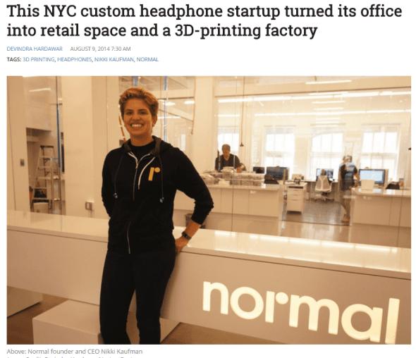 Headphones startup