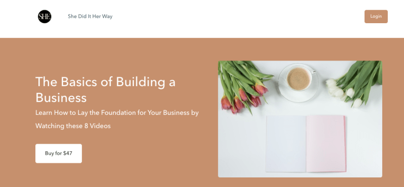 Amanda Boleyn's The Basics of Building a Business Course