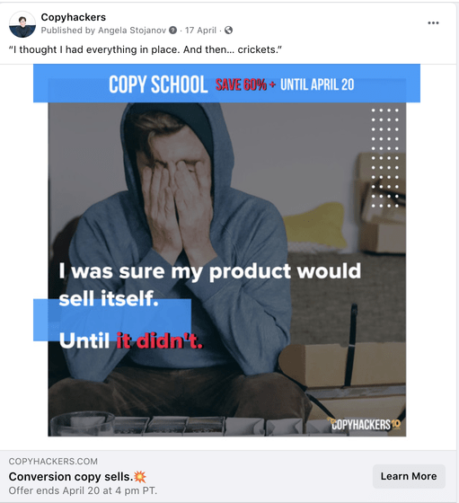 cold paid ad