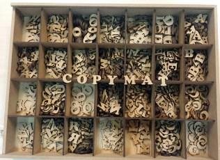 lletres copymat scrapbooking