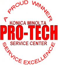 ProTech Service Award – Konica Minolta