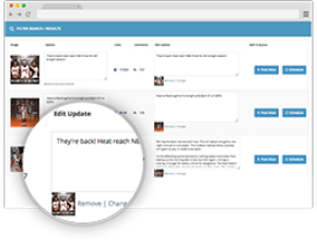 Social Kickstart 2.0 manage all pages