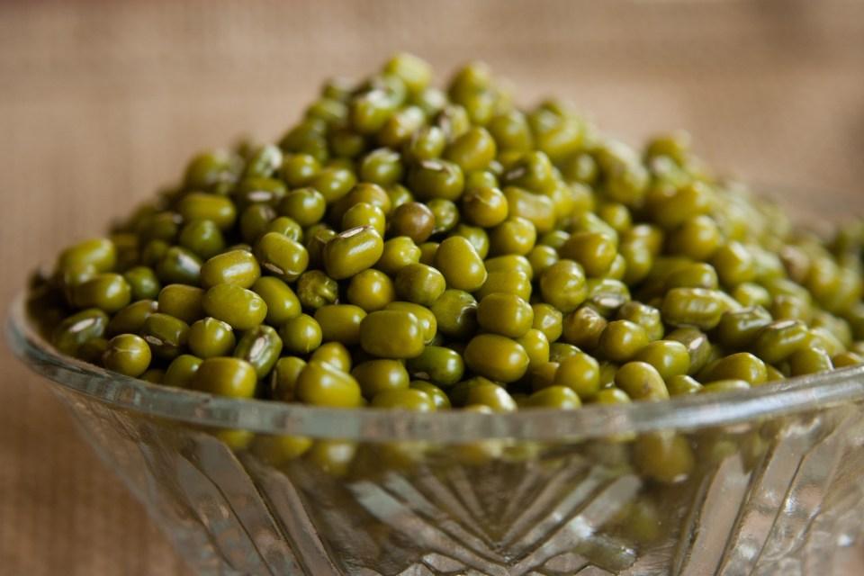 Judías mungo verde de soja
