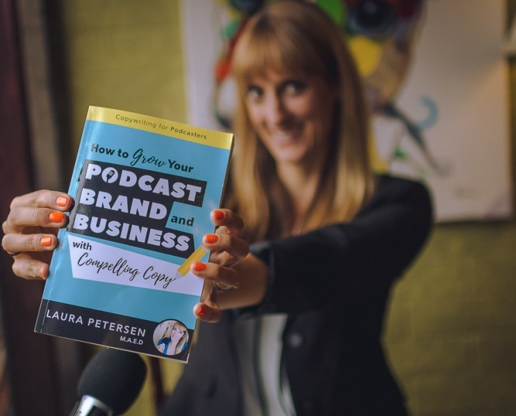 petersen book laura copywriting for podcasters