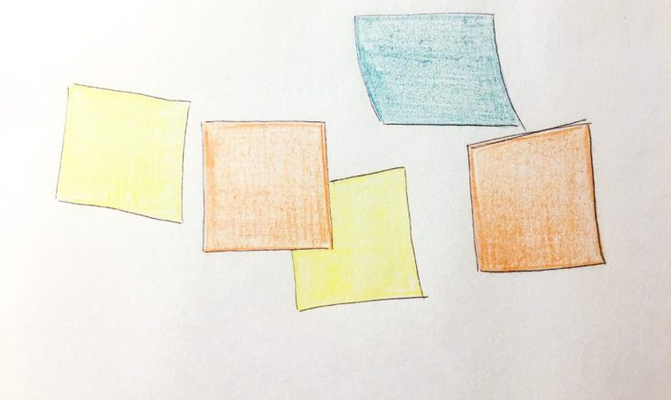 Here's the post-it technique to help you write a nonfiction book