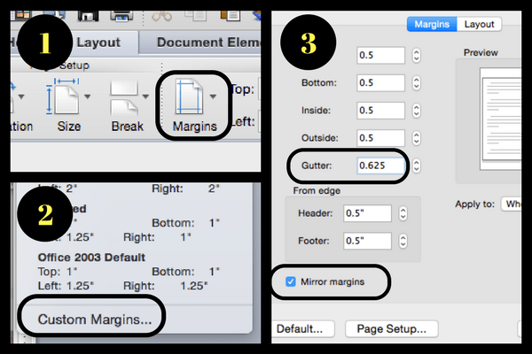 How to change your margins in Microsoft Word | Laura Petersen, Copy That Pops