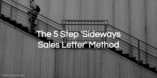 5 step sales letter