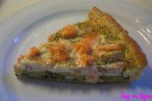 tarte saumon courgette