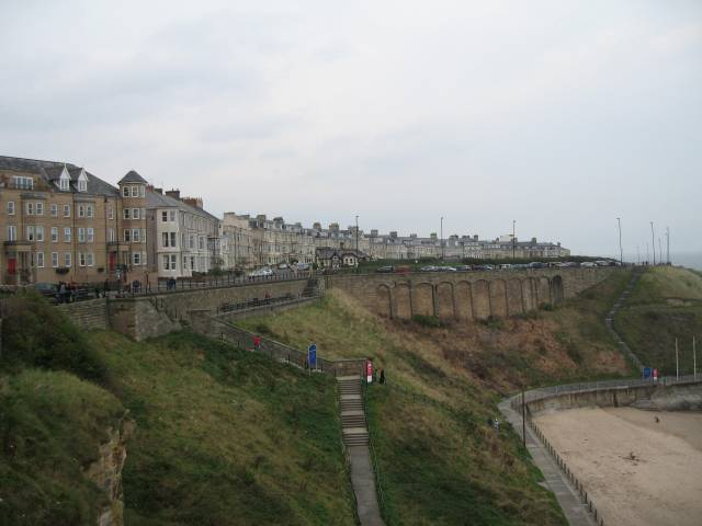 Tynemouth sea front