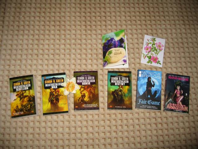 Unwrapped presents - books