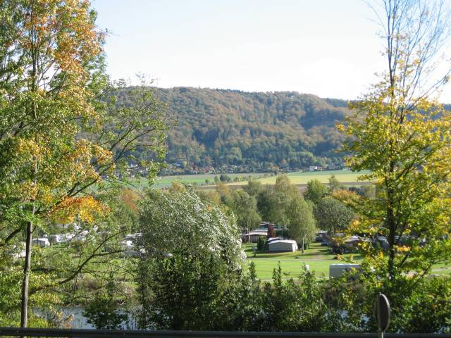 Weserbergland - View across the river