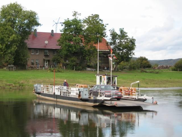 Reaction ferry Lippoldsberg