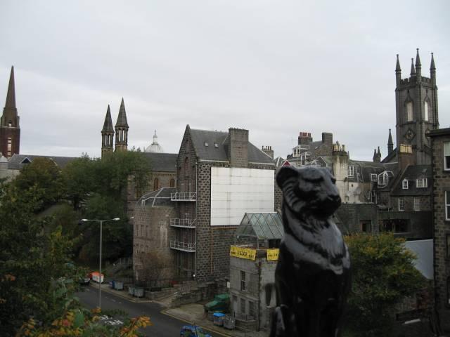 Aberdeen View from Union Bridge