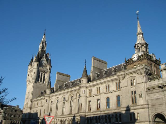 Aberdeen Tolbooth and Sheriff Court