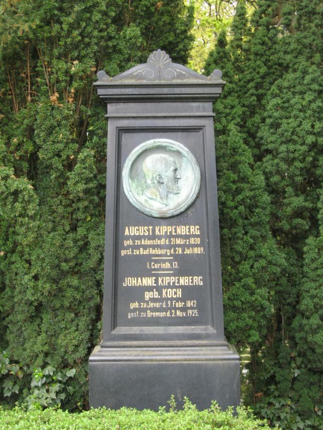 Walle cemetery - August Kippenberg