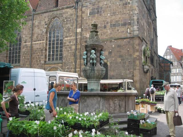 Bremen Marcus Brunnen