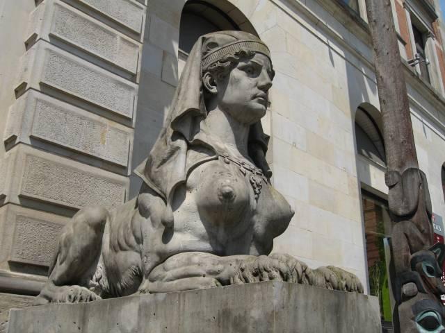Bremen overseas museum sphinx