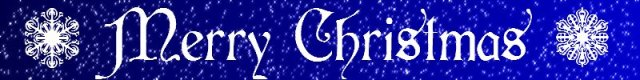 Banner Merry Christmas