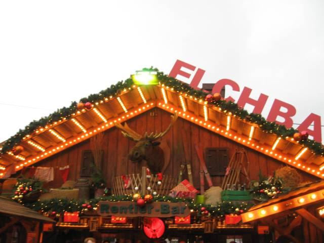 Bremen Christmas market Elchbar