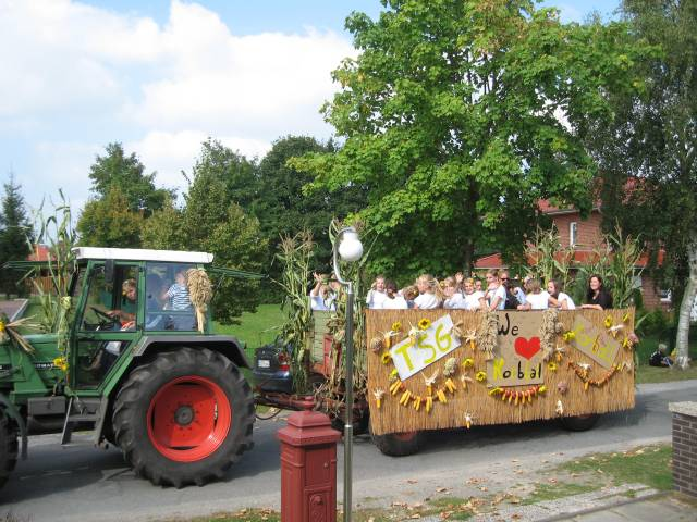 Harvest festival: Float