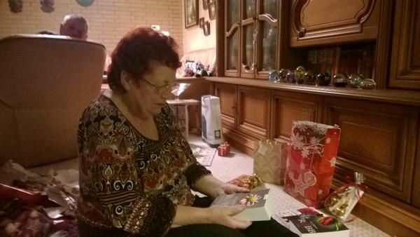 Unwrapping presents