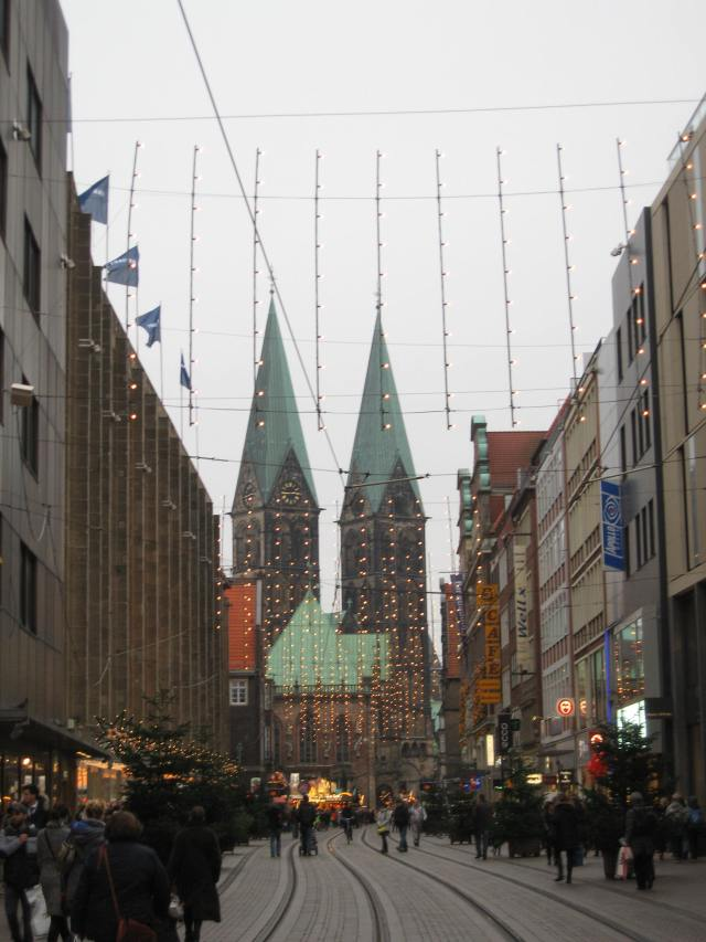 Bremen Obernstraße Christmas