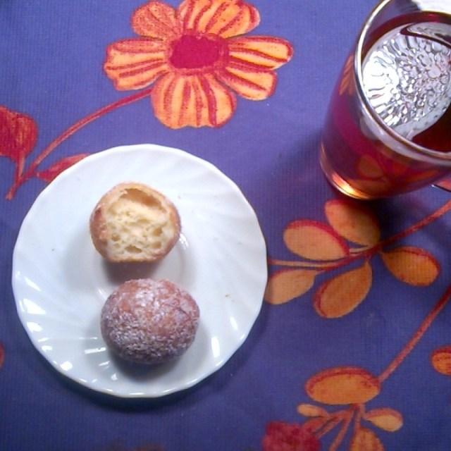 Quarkini dough balls