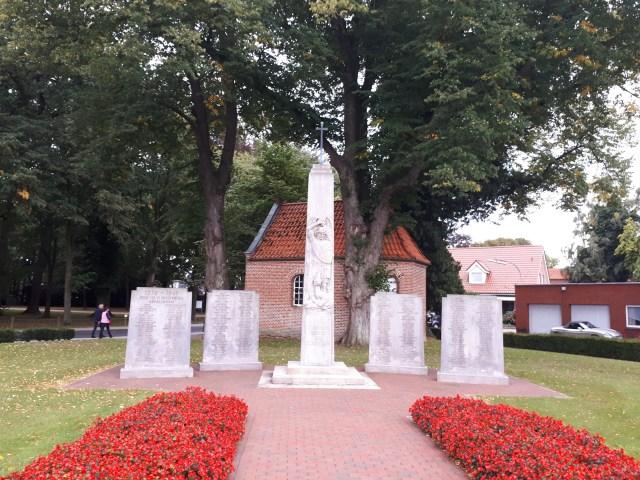 Gut Altenkamp war memorial