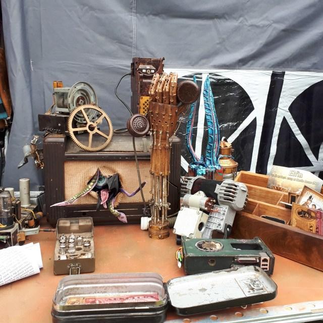 Steampunk exhibits