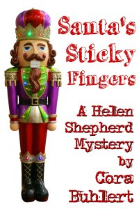 Santa's Sticky Fingers by Cora Buhlert