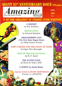 Amazing Stories 35th anniversary issue