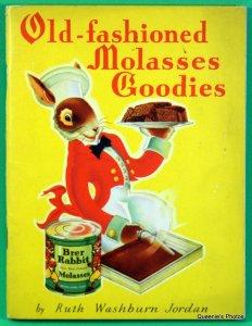 Old-fashioned Molasses Goodies by Ruth Washburn Jordan
