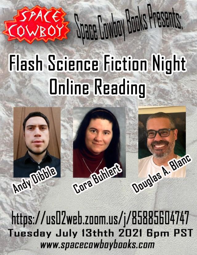 Flash Fiction Night Online Reading