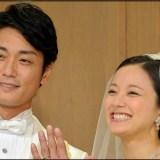 中越典子,永井大,結婚式