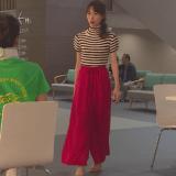 コードブルー3衣装!8話戸田恵梨香ボーダーニット&赤ワイドパンツが可愛すぎ!ブランドはどこ?