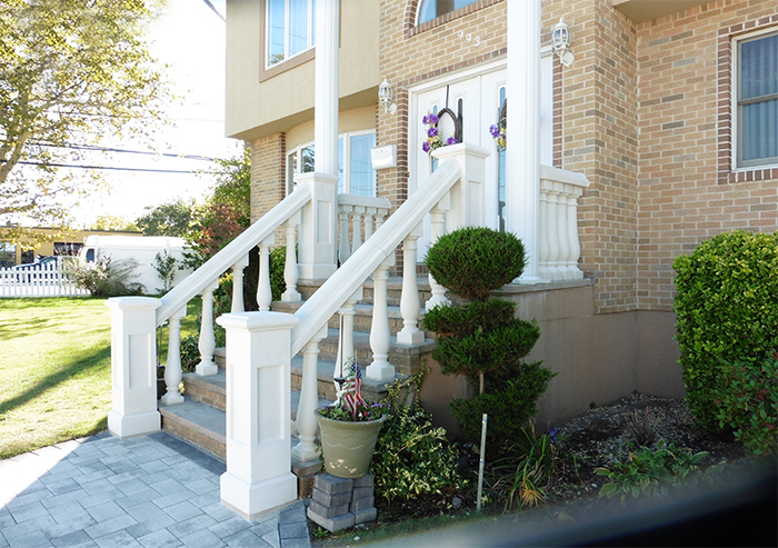 Concrete Balustrade System - Stair Railings