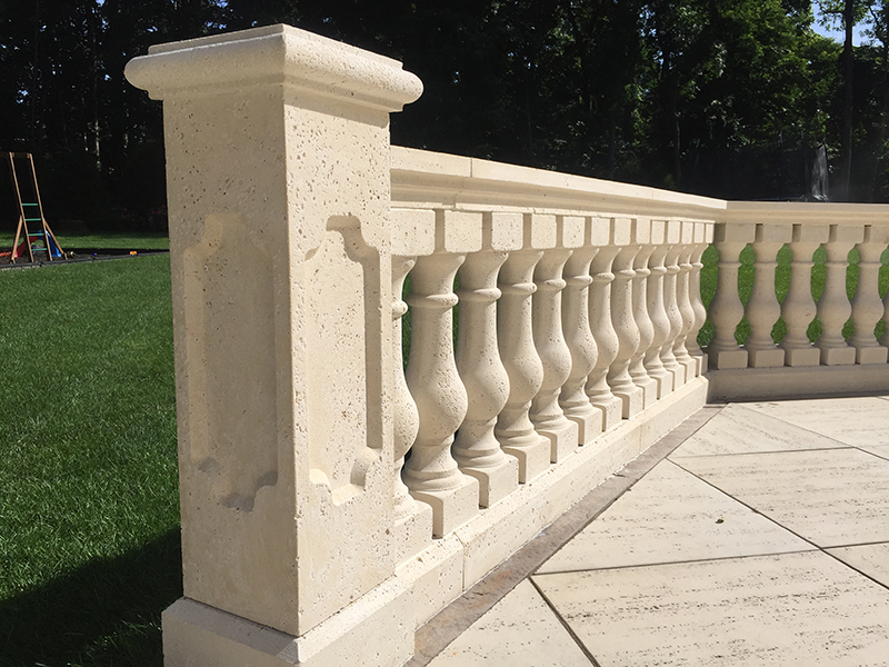 Concrete Balustrade Porch Railings Stair Railings