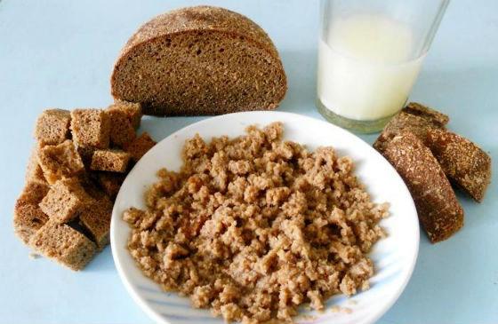 Хлебные составы на молоке