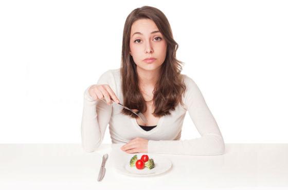 Для уменьшения объемов талии нужно следить за питанием