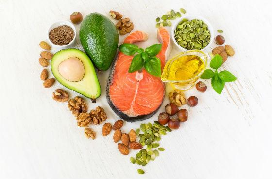 Продукты питания с большим содержанием жирных кислот
