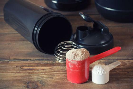 Порошки для приготовления белковых коктейлей